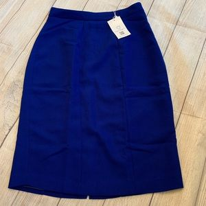 Marycrafts Women's Lined Pencil Skirt Royal Blue